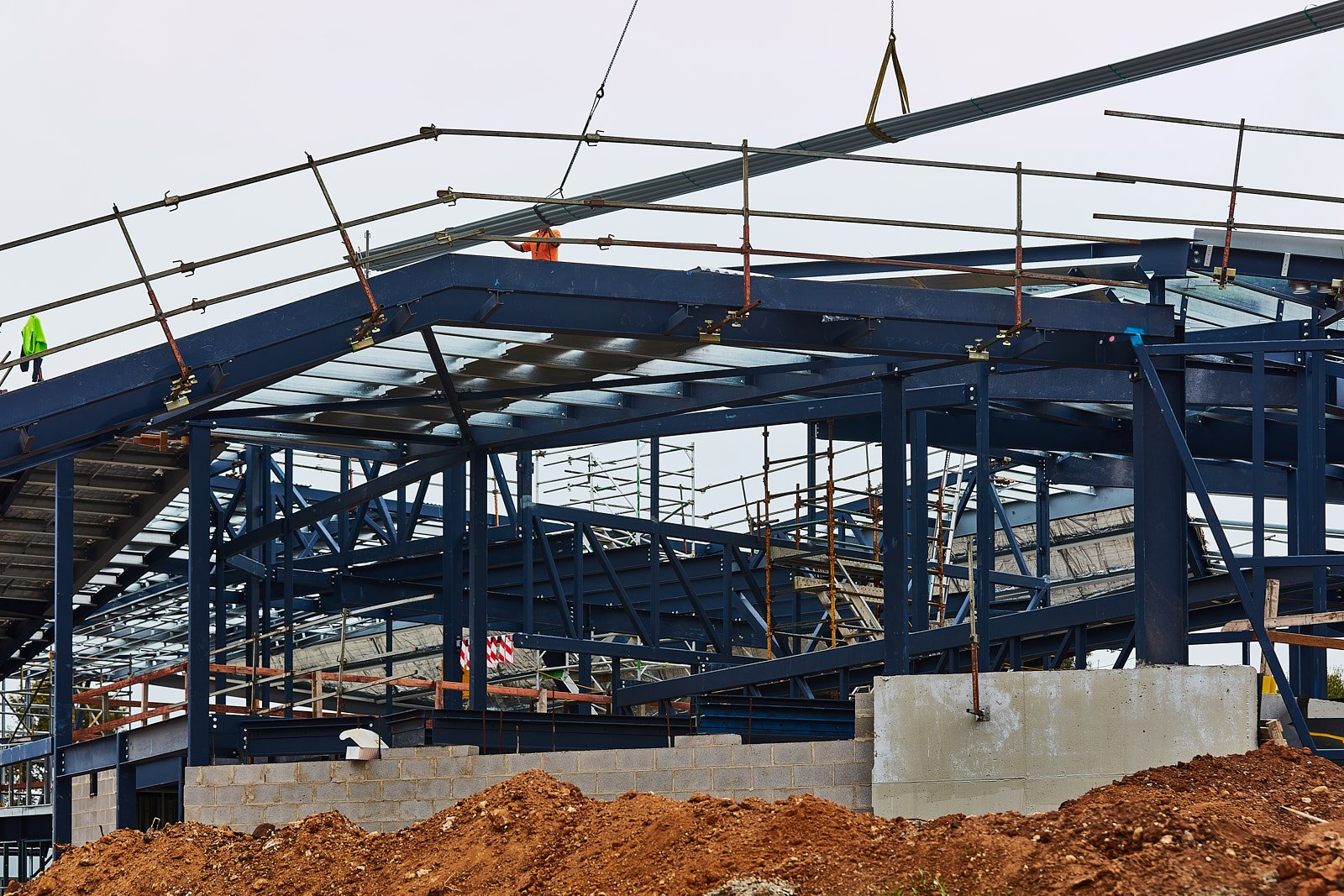 Complex Steel Structure Project - Marcus Oldham | Atex Steel